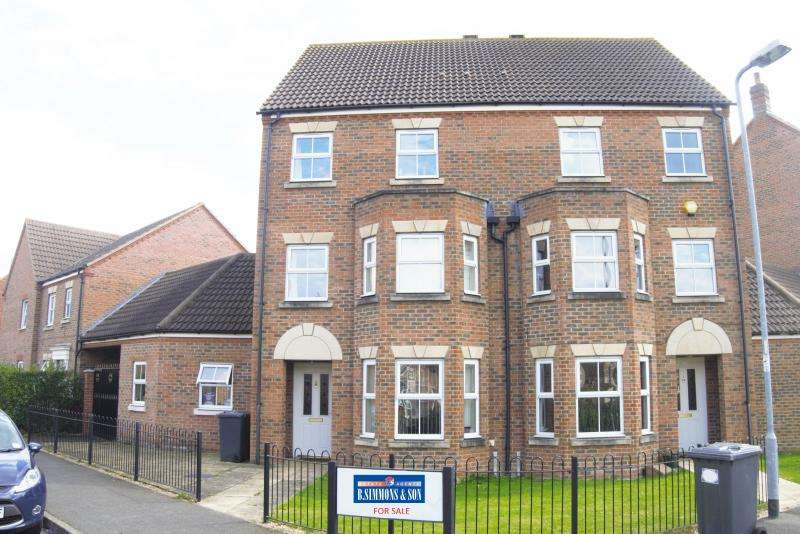 4 Bedrooms Semi Detached House for sale in Walker Crescent