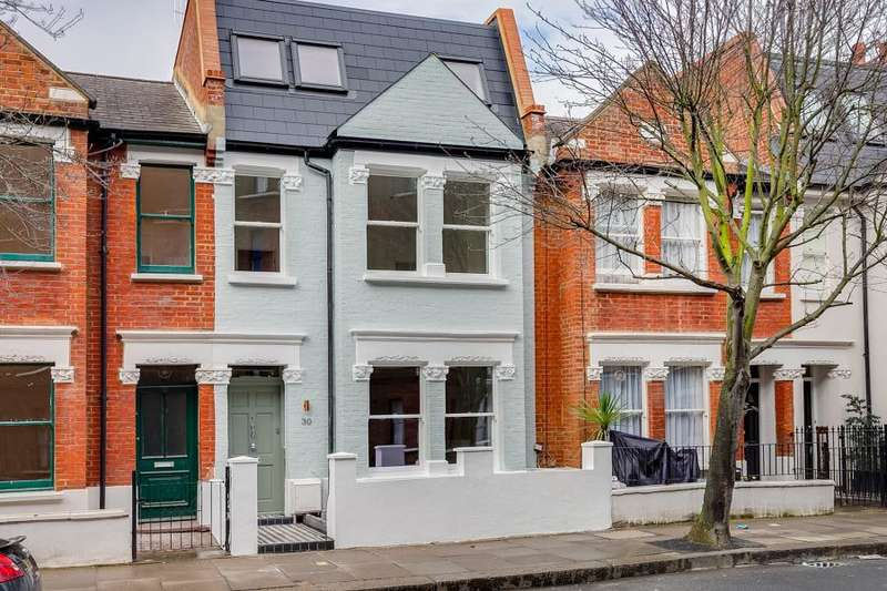 4 Bedrooms House for sale in Kingwood Road, Fulham SW6