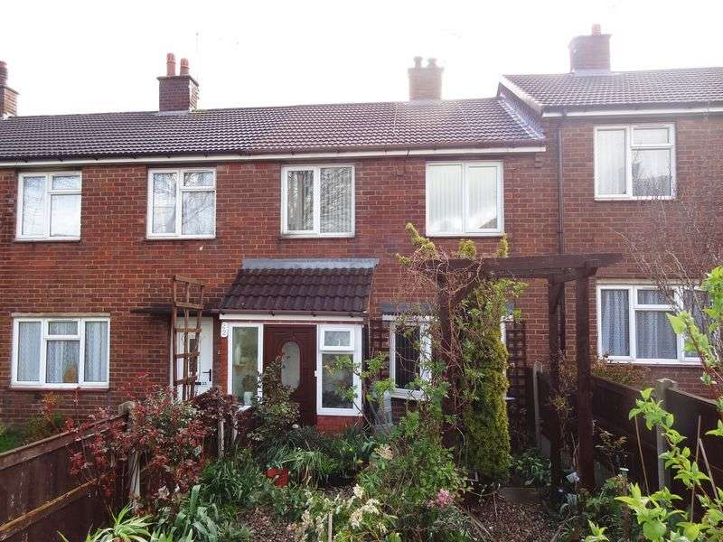 2 Bedrooms Terraced House for sale in Tan Y Dre, Wrexham