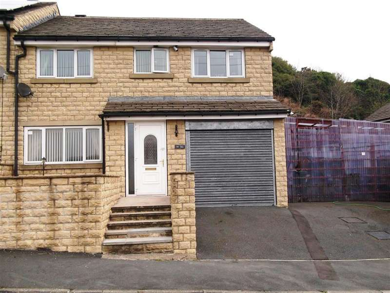 4 Bedrooms Semi Detached House for sale in Upper Brow Road, Huddersfield, HD1 4UP