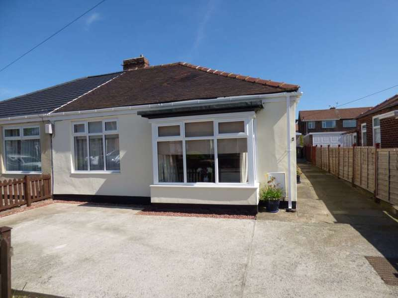 2 Bedrooms Semi Detached Bungalow for sale in Lavender Court, Marske By The Sea