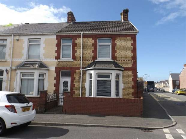 3 Bedrooms End Of Terrace House for sale in Norman Street, Aberavon, Port Talbot, West Glamorgan