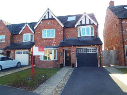 4 Bedrooms Detached House for sale in Meadow Close, Coppull, Chorley, Lancashire