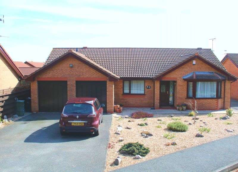 3 Bedrooms Detached Bungalow for sale in Heol Dewi, Abergele