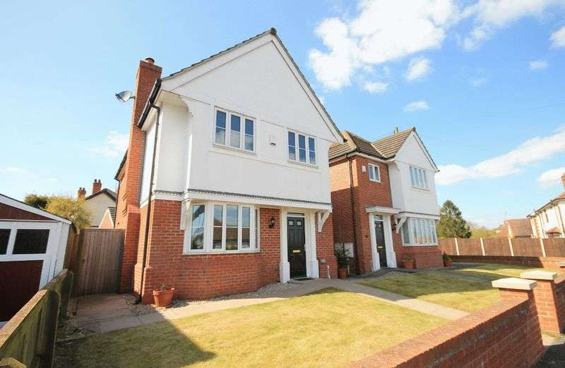 4 Bedrooms Detached House for sale in CAVENDISH AVENUE, ALLESTREE