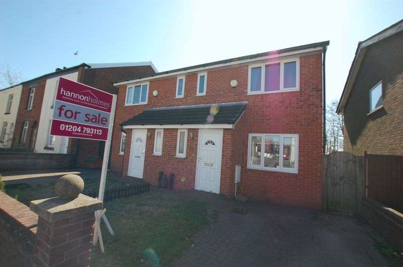 3 Bedrooms Semi Detached House for sale in Lever Street, Little Lever, Bolton