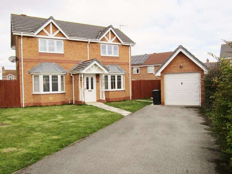 3 Bedrooms Detached House for sale in Lon Glanfor, Abergele