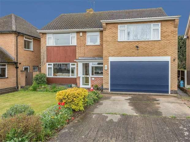 5 Bedrooms Detached House for sale in Oaktree Avenue, Radcliffe-on-Trent, Nottingham