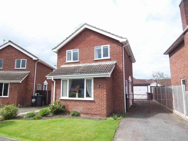 3 Bedrooms Detached House for sale in ACORN CLOSE, BARLBY
