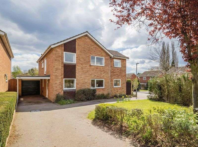 5 Bedrooms Detached House for sale in St. Walstans Road, Taverham, Norwich