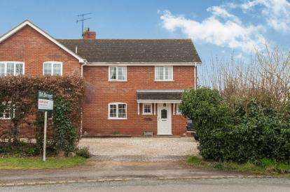 3 Bedrooms Semi Detached House for sale in Kinnersley, Severn Stoke, Worcester, Worcestershire