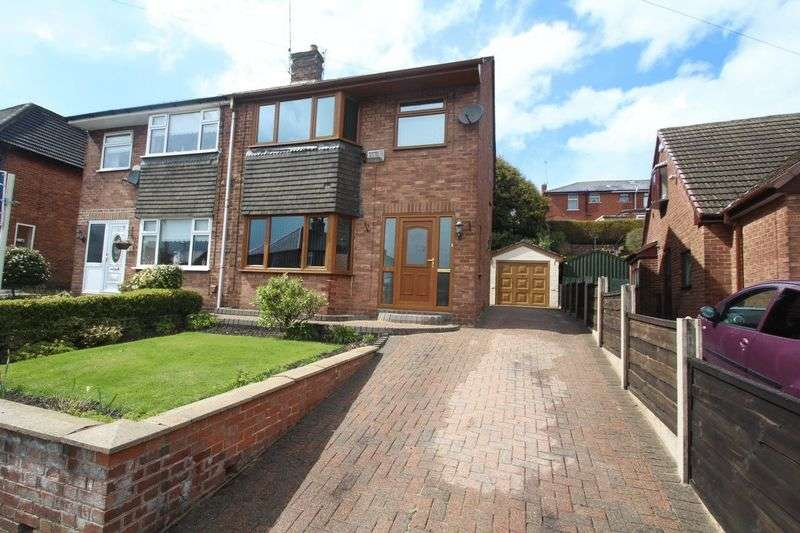 3 Bedrooms Semi Detached House for sale in Hartley Street, Passmonds, Rochdale OL12 7NF