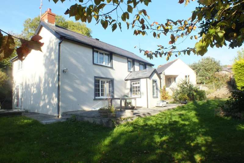 4 Bedrooms Detached House for sale in Rectory Lodge, Cosheston, Pembroke Dock, Pembrokeshire