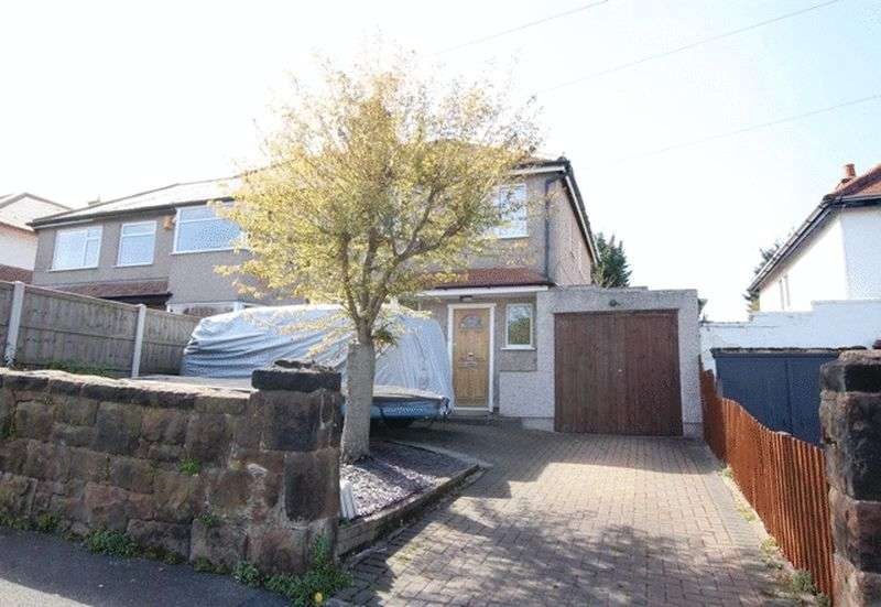 3 Bedrooms Semi Detached House for sale in Hillfield Drive, Heswall, Wirral