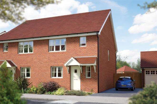 3 Bedrooms Semi Detached House for sale in Emmbrook Place, Matthewsgreen Road, Wokingham, Berkshire, RG41