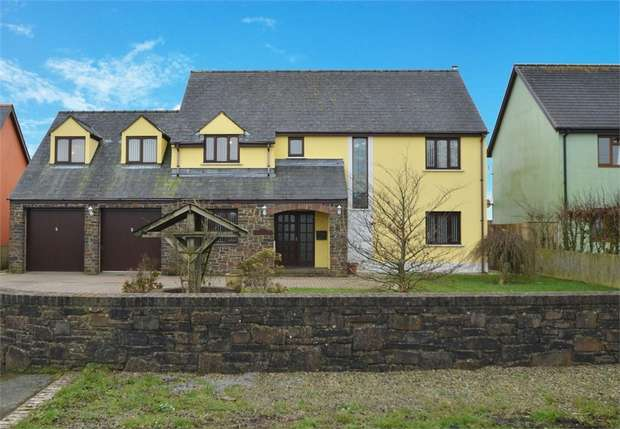 5 Bedrooms Detached House for sale in Hayscastle, Haverfordwest, Pembrokeshire
