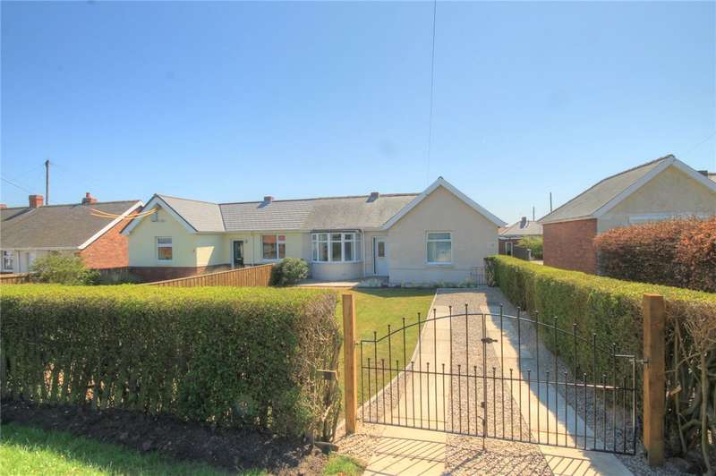 2 Bedrooms Semi Detached Bungalow for sale in Hillcrest, Burnhope, DH7