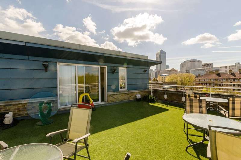 2 Bedrooms Flat for sale in Grenade Street, Limehouse, E14
