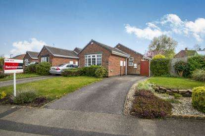 2 Bedrooms Bungalow for sale in Andrew Drive, Blidworth, Mansfield, Nottinghamshire