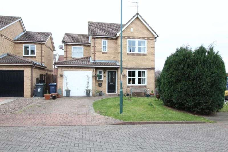 4 Bedrooms Detached House for sale in Yorkwood, Hebburn