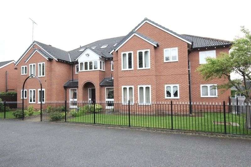 2 Bedrooms Flat for sale in Brunsborough Close, Bromborough, Wirral