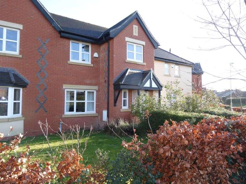 3 Bedrooms Terraced House for sale in The Meadows, Ellesmere