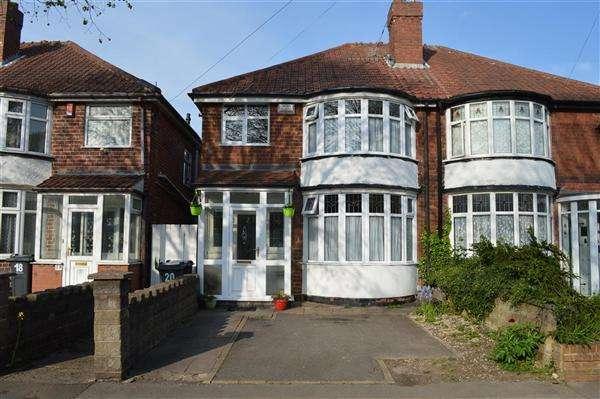 3 Bedrooms Semi Detached House for sale in Patrick Road, Yardley, Birmingham