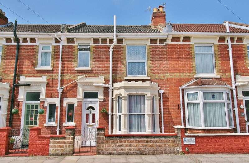 3 Bedrooms Terraced House for sale in Vernon Avenue, Southsea