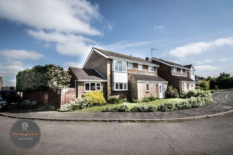 4 Bedrooms Detached House for sale in Brackenborough, Brixworth, Northamptonshire