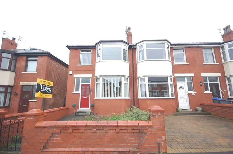 3 Bedrooms End Of Terrace House for sale in Dryburgh Avenue, Blackpool