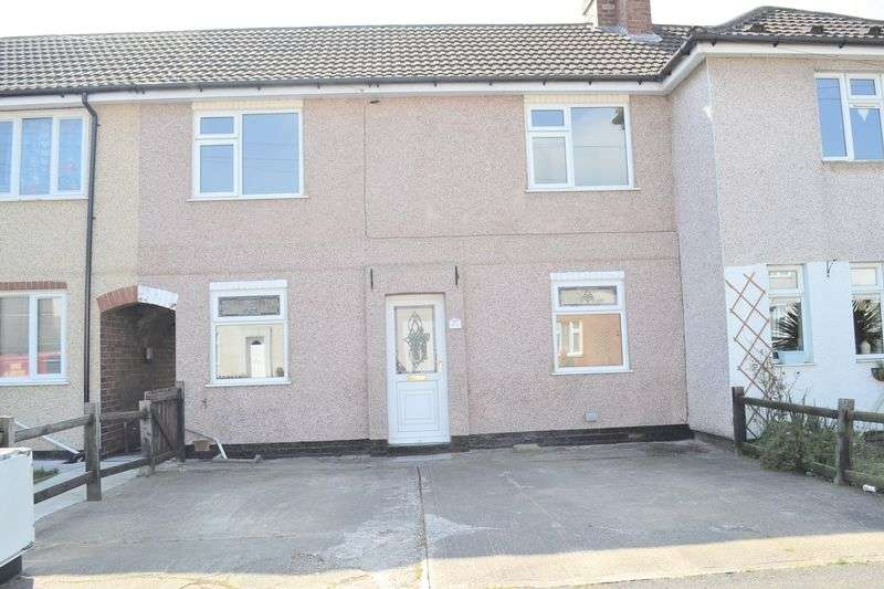 3 Bedrooms Terraced House for sale in Midway, Swadlincote