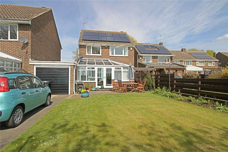 3 Bedrooms Link Detached House for sale in Riverside Drive, Great Burdon, Darlington, DL1