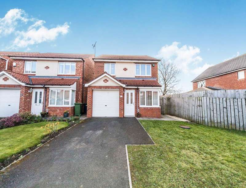 3 Bedrooms Detached House for sale in Dumbarton Close, Broadway Estate, Sunderland, SR4