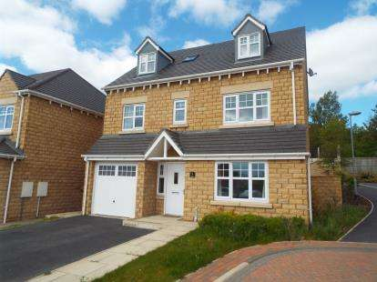 5 Bedrooms Detached House for sale in Dearne Court, Woolley Grange, Barnsley, West Yorkshire