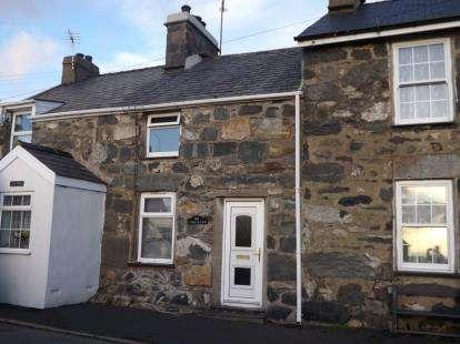 2 Bedrooms Terraced House for sale in Talyllyn, Garndolbenmaen, Gwynedd, LL51