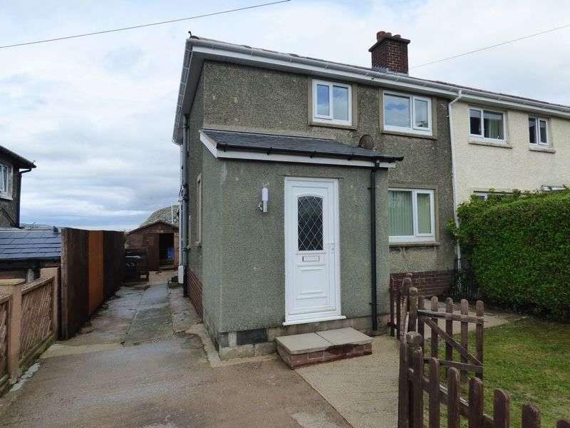 3 Bedrooms Semi Detached House for sale in Maes Y Llan, Penmaenmawr