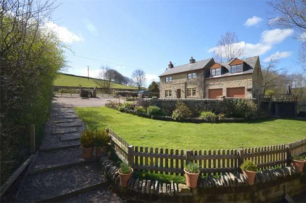 4 Bedrooms Detached House for sale in Ingbirchworth, South Yorkshire