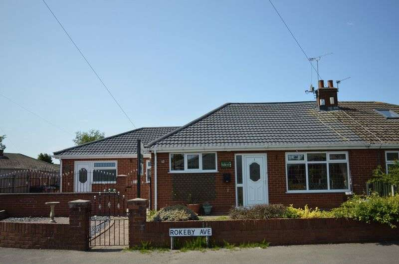 4 Bedrooms Semi Detached Bungalow for sale in Rokeby Avenue, Lowton, WA3 2HF