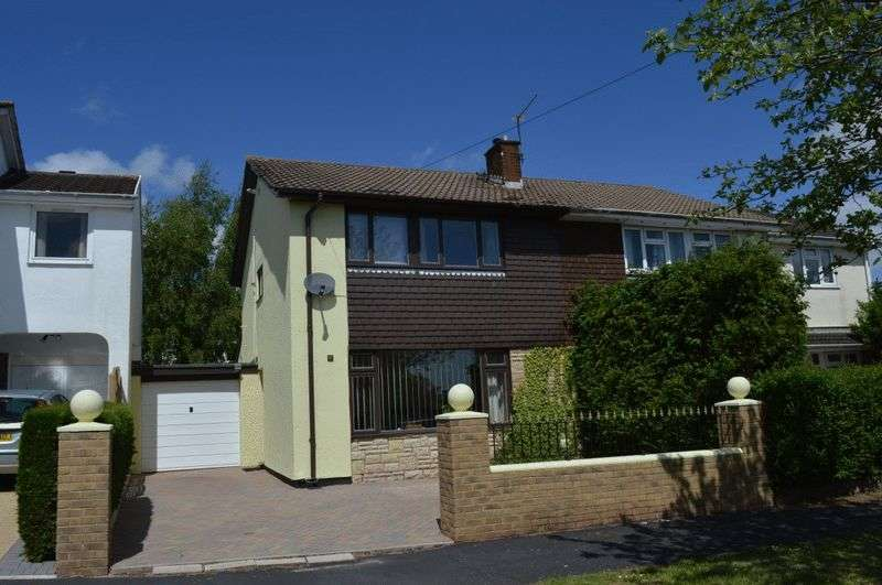 3 Bedrooms Semi Detached House for sale in HIGHFIELD ROAD, CAERLEON