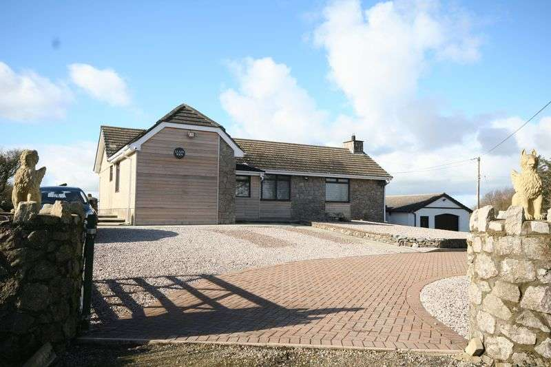 2 Bedrooms Detached Bungalow for sale in Mynydd Bodafon, Anglesey