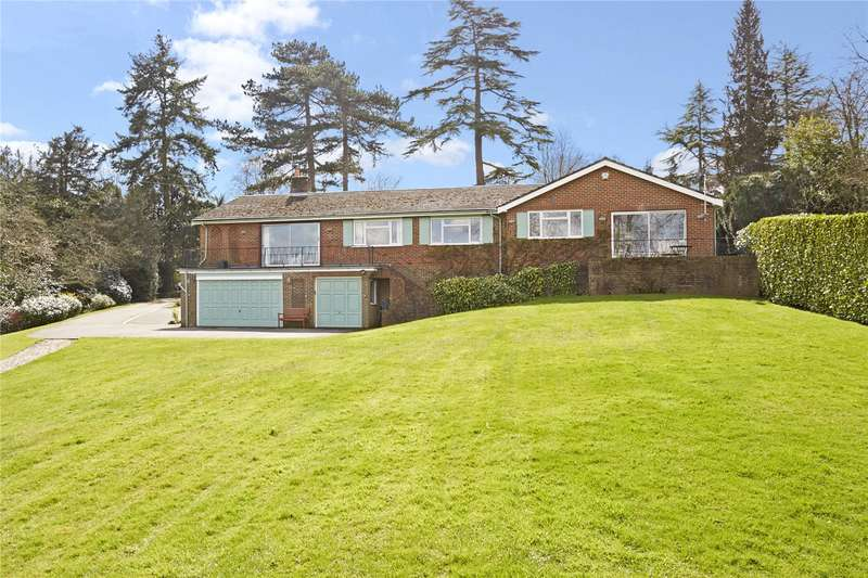 4 Bedrooms Detached Bungalow for sale in Camilla Drive, Westhumble, Dorking, Surrey, RH5