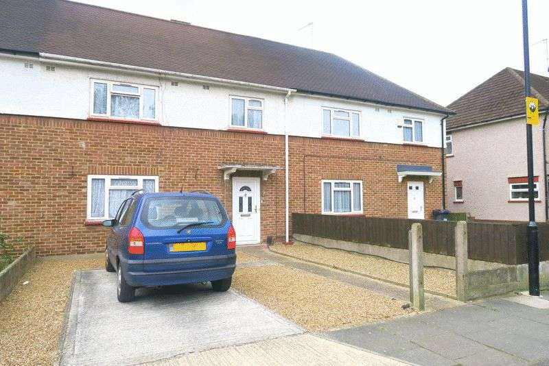 3 Bedrooms Terraced House for sale in ELM ROAD, BEDFONT