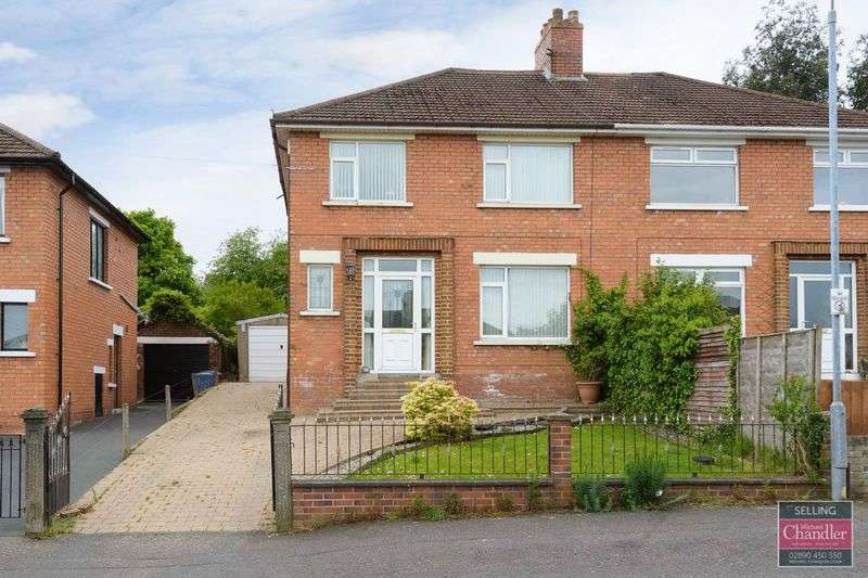 3 Bedrooms Semi Detached House for sale in 89 Abbey Park, Belfast, BT5 7HP