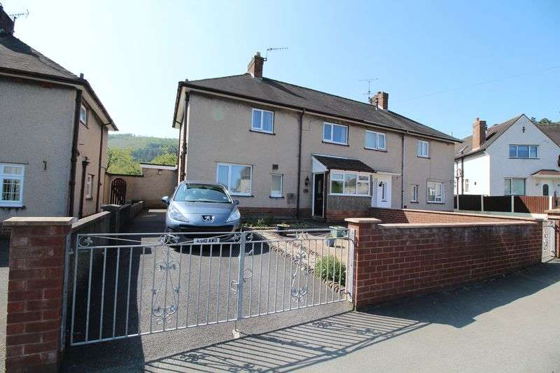 3 Bedrooms Semi Detached House for sale in Pengwern, Llangollen