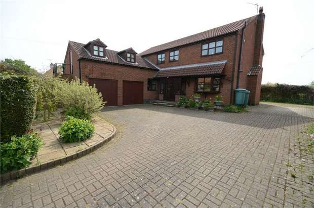 5 Bedrooms Detached House for sale in Main Street, Rowston, Lincoln