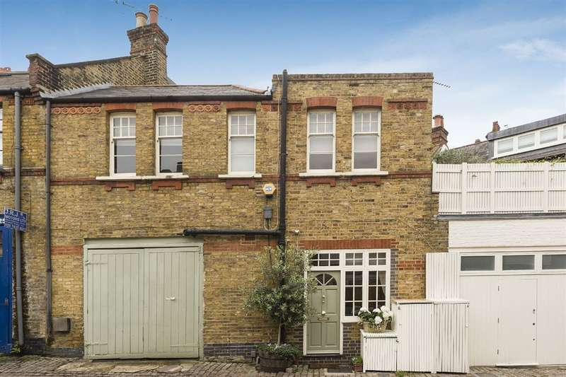 4 Bedrooms House for sale in Daleham Mews, Belsize Park, NW3