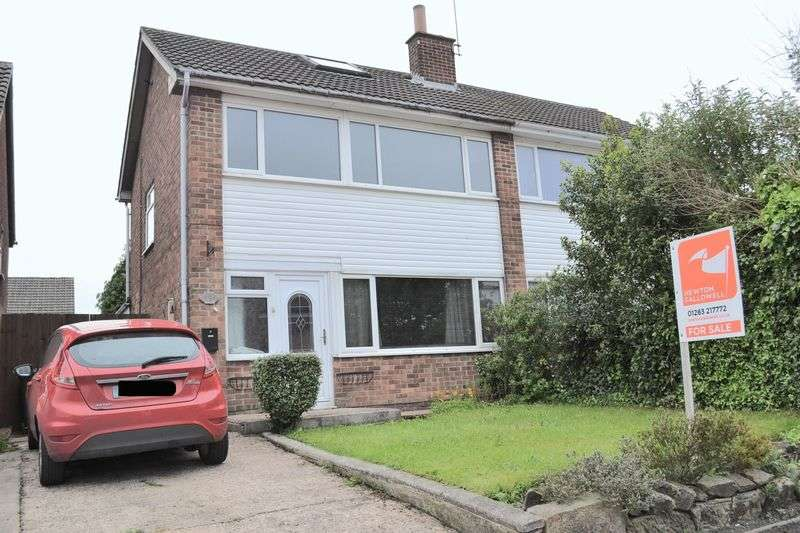 3 Bedrooms Semi Detached House for sale in Larch Road, Swadlincote