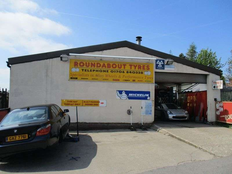 Property for sale in MOT garage & tyre replacement centre