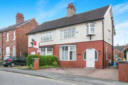3 Bedrooms Semi Detached House for sale in Knutsford Road, Alderley Edge, Cheshire