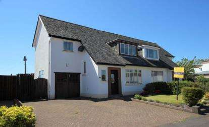 3 Bedrooms Semi Detached House for sale in Mansefield Crescent, Largs